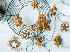 Gingerbread Cookies, Cooking, Desserts, Food, Pains, Ideas For Christmas, Garlands, Gingerbread Recipes, Chocolate Candies