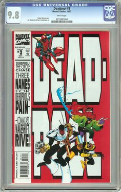 Deadpool #3 The Circle Chase (1993) CGC 9.8 White Pages 0272687004