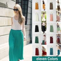 Discount China china wholesale Women Chiffon Sexy Elegant Asymmetric Long Maxi Skirt Elastic Waist Band [30559] - US$13.11 : DealsChic