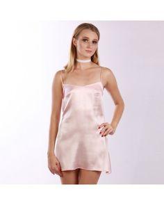 Light Pink платье комбинация