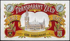label for Transparent Soap Vintage Tags, Vintage Labels, Vintage Ephemera, Old Commercials, Travel Posters, Altered Art, Holland, Paper Crafts, Printables