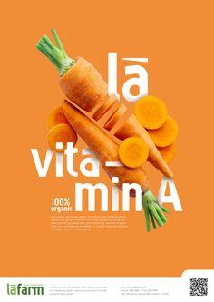 LÀ FARM | Branding Identity on Behance Food Graphic Design, Food Poster Design, Creative Poster Design, Ads Creative, Creative Posters, Graphic Design Branding, Graphic Design Posters, Ad Design, Graphic Design Inspiration