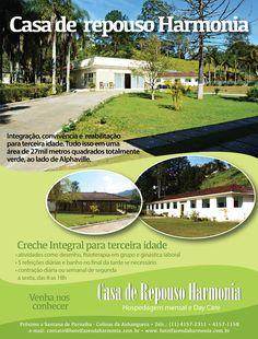 Anúncio revista Viva S/A - Casa de Repouso Harmonia