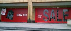 Creativesalesku: SALE on Window Display Sale Store, Sale On, Sale Signage, Retail Windows, Shop Windows, Window Display Design, Pop Design, Graphic Design, Promotional Design