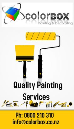 Colorbox provides painting and decoration services. We give quality painting service in Nelson. If you are looking for professional house painters then contact Colorbox team.