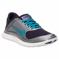 The barefoot-like ride you love in the Nike Free, as well as an ultra-comfortable fit come together in the Nike Free 4.0 Swoosh Running Shoes. Sleek and fast, these runners hug your foot with breathable mesh and a modified inner sleeve.   Go any