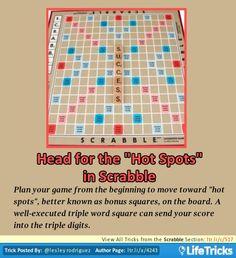 """Scrabble - Head for the """"Hot Spots"""" in Scrabble"""