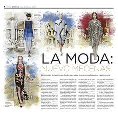 La moda: nuevo mecenas