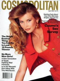 Claudia  -  Cosmo April 1993
