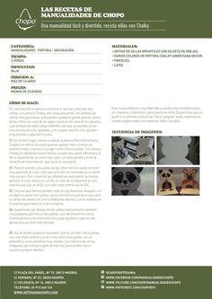 ¡Haz un par de osos de #madera! #Chalky http://artesaniachopo.com/decoracion/tutorial-una-manualidad-facil-divertida-recicla-sillas-pintadas-con-chalky/