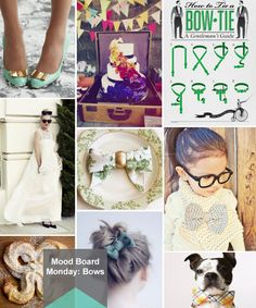 Mood Board Monday: Bows (http://blog.hgtv.com/design/2013/01/14/mood-board-monday-bows/?soc=pinterest)