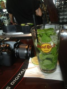 Mojito @Hard Rock Cafe Amsterdam
