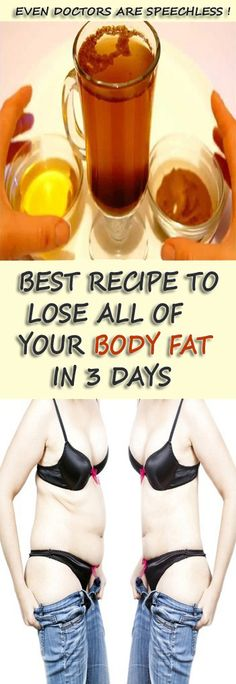 Doctors are Speechless —> This Recipe will help you lose all of Your Body Fat in 3 Days