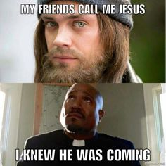 So Jesus finally arrives. Not really trusting him yet - TWD