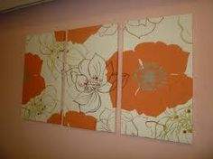 floral fabric wall hangings - Google Search