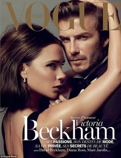 David & Victoria Beckham For Vogue Paris, Dec 13