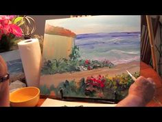 Painting Wet on Wet with Acrylics: Marge Kinney Art Show