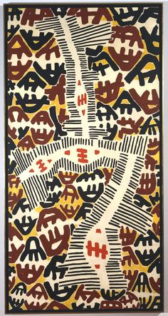 patternprints journal: THE FAMOUS SYMBOL-PATTERN INTO GIUSEPPE CAPOGROSSI'S PAINTINGS