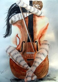 """""""Music is a language that doesn't speak in particular words. It speaks in emotions, and if it's in the bones, it's in the bones."""" ― Keith Richards ✨✨✨some songs you just can't forget Cello Kunst, Arte Cello, Cello Art, Guitar Art, Arte Jazz, Jazz Art, Music Painting, Music Artwork, Musik Illustration"""