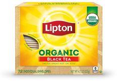Unilever Lipton organic black tea