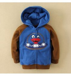 Mom and Bab Hooded Top - Blue UFO