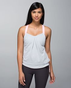 lululemon Rest Less Tank on Mercari Athletic Outfits, Athletic Wear, Tennis Tops, Workout Gear, Lululemon, Camisole Top, Tank Tops, Rest, My Style