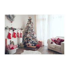 >> Click to Buy << Horizontal vinyl print 3D warm white Christmas room photography backdrop for photo studio portrait backgrounds ST-509 #Affiliate