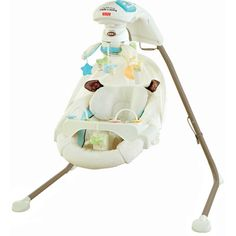 Fisher-Price My Little Lamb Cradle n Swing White « Blast Groceries