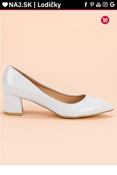 Elegantné biele lodičky Diamantique Kitten Heels, Platform, Women's Fashion, Shoes, Fashion Women, Zapatos, Shoes Outlet, Womens Fashion