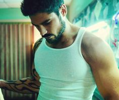 One more of DJ Cotrona because, I mean... come on.