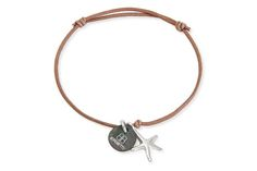 Beach inspired bracelet from Boho Betty, including starfish charm. The perfect accessory for a holiday outfit.