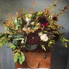 Gardenia Organic - New York, NY, United States. Seasonal arrangement by Gardenia Organic ($250 plus delivery & tax)