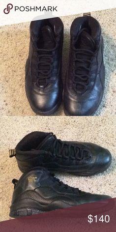 5c8e6e85d42a96 Jordan s Black Air Jordan NYC In Size 8.5 Very good condition. Shoes  Athletic Shoes
