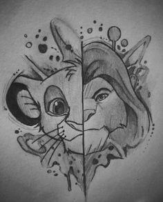 Drawing Disney Characters Lion King- Drawing Disney Characters Lion King… – Keep up with the times. Disney Character Sketches, Disney Drawings Sketches, Cute Disney Drawings, Drawing Cartoon Characters, Art Drawings Sketches Simple, Cute Drawings, Drawing Disney, Easy Graffiti Drawings, Disney Pencil Drawings