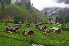 This photo from Azad Kashmir, East is titled 'Neelum Valley'. Kashmir Pakistan, Kashmir India, Azad Kashmir, Wonderful Places, Beautiful Places, Beautiful Pictures, Kashmir Tour, Colonial India, Srinagar