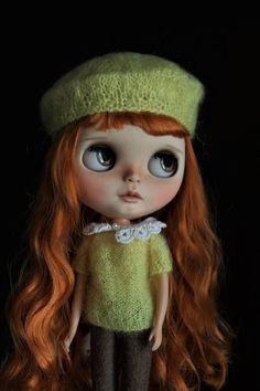 OOAK vlastní Blythe panenka Bexley