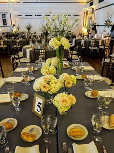 Soldiers & Sailors Memorial Hall & Museum | Pittsburgh Wedding Venue | Wedding Reception | Historic Wedding | Gray and Ivory Linens by All the Best Catering | Woodgrain Chiavari Chairs by All Occasions Party Rental | Jamie & Nat | September Wedding | Photo and Entertainment by Jeremy Ganss Productions | Centerpieces: Ivory Delphinium and Curly Willow Vases by @www.karriehlistadesigns.com