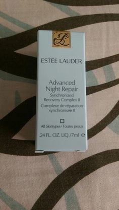 SWAPPED (Carla Sjoholm) Estee Lauder Advanced Night Repair Synchronized Recovery Complex II - BN