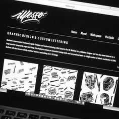 Had a little spare time updated my website slightly!  #customtype #customlettering #customtypography #goodtype #thedailytype #type #typism #typegang #typespot #typography #typematters #brushtype #handtype #handdrawn #handmadefont #letters #lettering #letteringdesign #pen #ink #illustration #illustrated #font #design #script #sketch #drawing #thefinelab #todaystype by illesso_