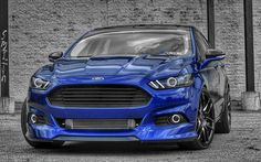 "Gary's ""Blue Lady"" Ford Fusion - The Lighting Firm"
