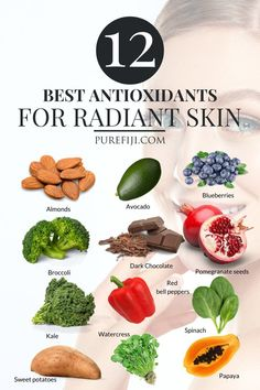 Best Foods For Skin, Foods For Healthy Skin, Healthy Tips, Healthy Snacks, Healthy Recipes, Health And Nutrition, Health And Wellness, Health Foods, Oral Health