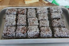 12WBT lamingtons made by my marketing team.