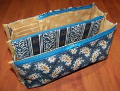 Encore Purse Insert Pattern-purse organizer pattern by StudioKat Designs