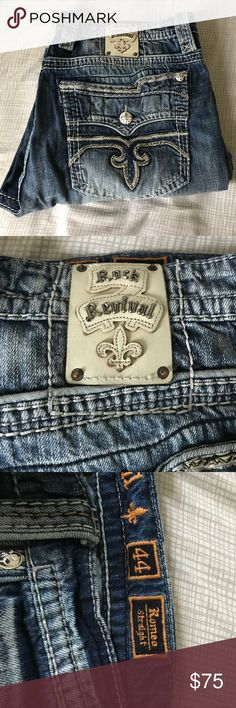 Men's Jeans Nice pair of Men's Jeans Rock Revival Jeans Straight