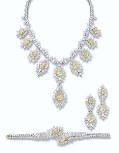Diamond Parure Fred Christie's