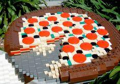 Gaveta Virtual: Comida de Lego