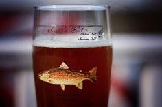 Fish Art, Pint Glass, Bottle, Tableware, Dinnerware, Beer Glassware, Flask, Tablewares, Place Settings