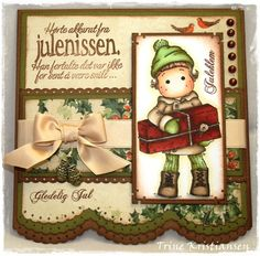 Scrapbooking card. Love this layout.