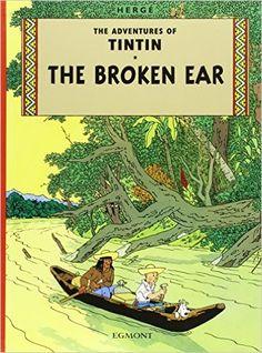 Tintin - the Broken Ear (The Adventures of Tintin)