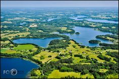 Latgale (Land of the Lakes). One of the 4 geographical regions of Latvia. Untouched nature and beautiful lakes. #Latvia